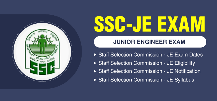 SSC JE 2020 - Application Form, Admit Card , Exam Dates