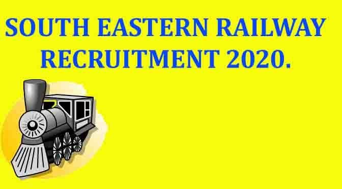 South Eastern Railway 2020 Recruitment - Apply online, 324 Posts for Assistant Loco Pilot