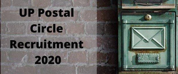 UP Postal Circle Recruitment 2020 Admit Card